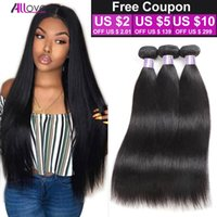 Wholesale online human hair for sale - Group buy Peruvian Virgin Hair Straight Bundle Deals A Unprocessed Virgin Peruvian Straight Weave Bundles Cheap Brazilian Human Hair Weave Online