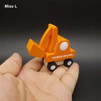 Wholesale kids power cars for sale - Group buy Mini Power Shovel Car Toys Children Truck Model Wooden Kid Gift