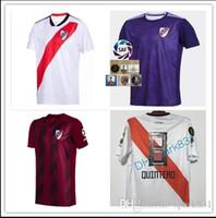 ev plakaları toptan satış-Yeni Nehir Plaka futbol forması 2019 2020 tay kaliteli ev MARTINEZ Fernández Martínez PRATTO QUINTERO MARTINEZ özelleştirmek futbol gömlek