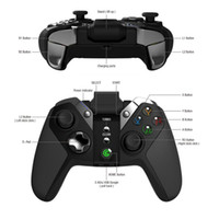Wholesale shock gear resale online - GameSir G4s Bluetooth Gamepad Wireless Controller for Android Phone Android Tablet Android TV Sumsung Gear VR Play Station3