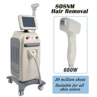 Wholesale hair home machine online - laser diode hair removal home hair removal machines nm Lumenis fiber coupled Unwanted Hair remover dark facilal