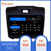 nissan dash gps dvd achat en gros de-Seicane 2DIN 9 pouces Android 9.0 pour Chevrolet S10 2015 2016 2017 2018 ISUZU D-Max Lecteur GPS Radio voiture support voiture caméra arrière DVD