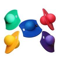 Wholesale fitness equipment sales online - Explosion Proof Fitness Balls Childrens Toys Thickening Bouncing Ball Portable Eco Friendly Anti Wear Training Equipment Hot Sale xjI1