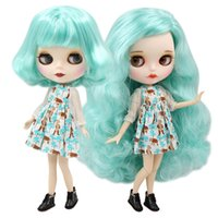 Wholesale normal doll for sale - Group buy ICY factory blyth doll bjd joint normal body mint hair matte face BL4268 cm