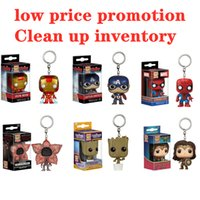 Wholesale wholesale superman toys online - Funko Pop The Avengers Super Hero Figure Deadpool Thor Iron Man Superman Captain America Hulk Action Figures Anime Collection Doll kids Toys