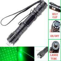 caneta laser militar venda por atacado-2019 Nova Marca 1 mw 532nm 8000 M de Alta Potência Verde Ponteiro Laser Luz Pen Lazer Feixe Verde Militar Lasers ePacket Frete Grátis