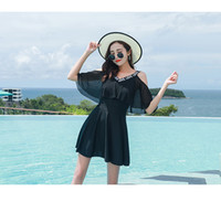 um traje de banho peça esporte venda por atacado-Transfronteiriço hot comércio exterior swimsuit das mulheres one-piece swimsuit amazon estilo quente tamanho swimsuit esportes