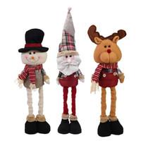 árvore de natal de brinquedo venda por atacado-Xmas Tree Christmas Doll Toy Ornamento de suspensão Pingente Home Decor