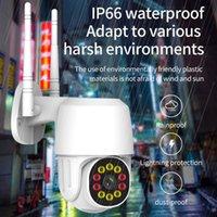 Wholesale waterproof wireless mini camera resale online - 1080P PTZ FHD Mini Wireless IP Camera Waterproof Speed Dome WiFi Security Surveillance CCTV Camera Audio AI Human Detection camcorder