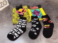 erkek çocuk bezi aksesuarları toptan satış-3 Çift / grup Bebek Bebek Çorap ilkbahar sonbahar Örgü Ince Bebek Kızlar için Çorap Pamuk Yenidoğan Erkek Yürüyor Çorap Bebek Giysileri aksesuarları