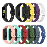 Wholesale accessoires bracelets for sale - Group buy For Samsung Galaxy fit e R375 Smart watch strap silicone bands Clear TPU Case bracelet replacement with Pattern Smart accessoires