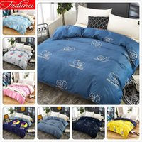 Wholesale single size bedding for sale - Group buy Adult Kids Child Soft Cotton piece Duvet Cover Quilt Comforter Bedding Bag Single Full Double Queen King Size x220 x240