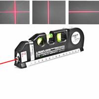 ingrosso allineatore orizzontale verticale laser-Livellatore laser universale 8FT Allineatore Standard Orizzontale Misuratore trasversale verticale e misuratore metrico Misuratore di livello Misuratore laser