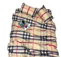 Wholesale foot bedding resale online - Home textiles quilt cover pillowcase sets soft Crystal original fashion Brand classic lattice cotton Set for Feet bed