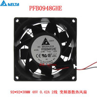 Wholesale Original pfb0948ghe V a x92 x38mm cm line pressurized heat dissipation fan