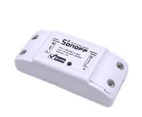 ev kablosuz ışık anahtarı toptan satış-Orijinal Itead Sonoff Temel Wi-Fi Akıllı Anahtar Modülü DIY Kablosuz Uzaktan Domotica Anahtarları Wifi Işık Ev Denetleyici 20