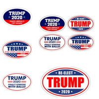 imanes de nevera grande al por mayor-Pegatinas de Donald Trump pegatinas de refrigerador para 2020 elección presidencial de Estados Unidos Keep Make America Great Decal para refrigerador EEA67