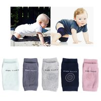 Wholesale infant crawling cushion resale online - 1 Pair Baby Knee Pad Kids Safety Crawling Elbow Cushion Infant Toddlers Baby Leg Warmer Kneecap Support Protector Baby