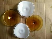 ingrosso pareti luminose-Piatti in vetro soffiato a mano soffiato a mano in vetro di Murano