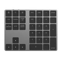 klavye ios android toptan satış-34 Tuşları Kablosuz Bluetooth Mini Sayısal Klavye iOS Android MacBook PC Için Mini Taşınabilir Masaüstü Dizüstü Tablet PC