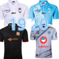 olímpicos camisa homens venda por atacado-2019 2020 novos homens da copa do mundo fiji casa branco camisa de Rugby Sevens Camisa Olímpica 19 20 Nacional 7's Rugby Jersey s-3xl