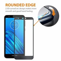 Wholesale silk screens for sale - Group buy For LG Escape Plus Motorola E6 Plus E7 H Hardness Silk Screen Protector Anti Scratch Tempered Glass With Retail Package