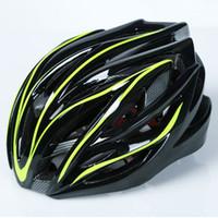 Wholesale dual helmets resale online - Brand Cycling Helmet Ultralight Integrally molded Professional Bike Helmet Dual Use Road MTB Bicycle Accessories