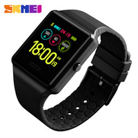 Wholesale health monitoring watches online – SKMEI Watches Mens Fashion Sport Digtal Watch Multifunction BlueTooth Health Monitor Waterproof Watches relogio digital