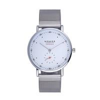 reloj de lujo hombres delgados al por mayor-Envío gratis de lujo NOMOS reloj de los hombres de moda ultra delgada reloj de cuarzo hombres mujeres deportes relojes casuales amantes de los relojes de pulsera de los habitantes