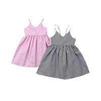 Wholesale girl clothe for sale - Group buy Baby Sling Princess Dress Toddler Infant Baby Girls Suspender Skirt Kids Designer Clothing Outfits Sleeveless Square Bow Tie Dress