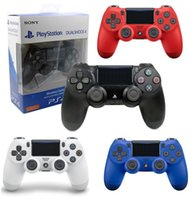 Wholesale video games joystick resale online - PS4 Wireless Game Controller for PlayStation PS4 Game Controller Gamepad Joystick Joypad for Video Games With Retail Box dhl free