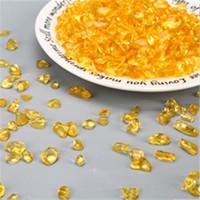 pedras preciosas amarelas venda por atacado-Natural Amarelo Citrino Cristal Gems Stone Ore Espécimes Minerais Crus Pedra Reiki Cura Atacado New Hot