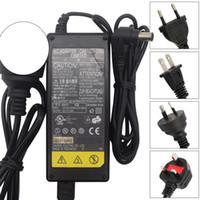 adaptadores de corrente alternada usados venda por atacado-Para Fonte de Alimentação Fujitsu CA01007-0750: AC Adapter Charger 16V 3.36A 6.5mm * 1pin black - Used