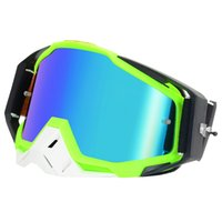 quads schmutzfahrräder großhandel-Radfahren Brille Motocross Roller Dirt Bike Quad ATV UV400 Schutz Snowboard Bike Racing Helm Brille Glasse Kid Erwachsene