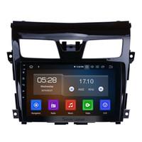 tv nissan оптовых-9-дюймовый Android 9.0 четырехъядерный автомобильный радиоприемник для 2013-2017 Nissan Teana с зеркалом Link GPS-навигация WIFI USB поддержка ТВ Canbus 3G Автомобильный DVD