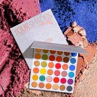 36 palette großhandel-Beauty Glazed 36 Color Your Shades Lidschatten-Make-up Pallete Matte Lidschatten-Palette Shimmer Lidschatten-Pulver Pigment Cosmetics