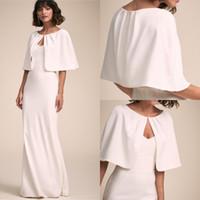 Wholesale satin bolero jackets resale online - High Quality Satin Bridal Wraps Jackets Wedding Accessories Coats Bolero Party Coats Women Shawls For Party Winter