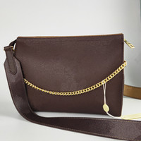 bolsa de couro embreagem pulseira venda por atacado-Designer bolsas de luxo Crossbody Mensageiro sacos de ombro cadeia de bolsa com alça; couro bolsas das senhoras da embreagem Bolsas