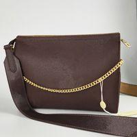 Wholesale clutch bags resale online - Womens Bag Handbags Fashion Crossbody Messenger Shoulder Bags Chain Bag with Strap Leather Purses Ladies Handbag Clutch Bags