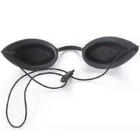 terapia de luz laser led venda por atacado-Shr opt óculos de segurança de proteção para os olhos óculos de segurança do laser vermelho protetor paciente e luz ipl levou eyetup terapia de fótons