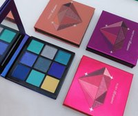 ingrosso up palette ombretto-Beauty Neon 9 colori Trucco Ombretti Pallete Palette per trucco Shimmer Pigmented Eye Shadow Palette RUBY AMETHYST SAPPHIRE EMERALD TOPAZ