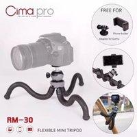 телефон с осьминогами оптовых-Cima Pro RM-30 путешествия открытый мини кронштейн стенд с телефона клип осьминог штатив для цифровой камеры смартфон GoPro