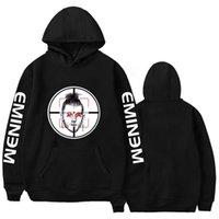 sweats à capuche eminem achat en gros de-Eminem Mitrailleuse Kelly Diss Track Killshot Hoodies pour Hommes Casual Sweatshirts Unisexe 6 Couleurs Hip Hop MGK Hoodies Hoody Vêtements