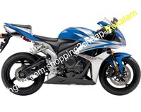 Wholesale honda fairings for sale - Group buy Fairings For Honda CBR600RR CBR RR RR F5 CBR600 Blue Silver Motorcycle Fairing Injection molding