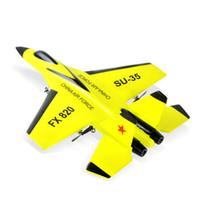 quadcopter modelleri toptan satış-Süper Serin RC Mücadele Sabit Kanat-820 2.4G Uzaktan Kumanda Uçak Modeli RC Drone Helikopter Quadcopter