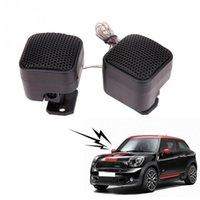 tiz sürücü araçları toptan satış-2 Adet 12 V Evrensel Araba Süper Güç Yüksek Verimlilik Ses Loud Hoparlör Tweeter 500 w