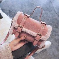 neue koreanische mode frauen handtaschen großhandel-Designer Luxus-Umhängetasche Frauen Designer-Handtasche Herbst und Winter Mode neue koreanische Art und Weise All-around ein Schulter-Messenger Carrying4