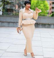 raumrock groihandel-Länge 150 cm Afrikanische Kleider für Frauen Dashiki Nagel Perle Afrikanische Kleidung Raumschicht Kleid Rock Langarm Afrika Kleid