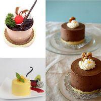 flexible süßigkeiten formen großhandel-Süße kuchenform seife runde flexible silikonformen plätzchenform süßigkeiten schokolade gestaltungswerkzeuge moldes de silicona para reposteria