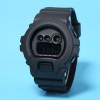 baby bindung großhandel-Top-Qualität AAA Männer G Sportuhr DW6900 Tag-Datum LED-Anzeige Uhr schwimmen wasserdicht